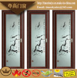 Puertas de aluminio clásicas del cuarto de baño de las puertas del tocador de las puertas del marco