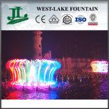Fuente colorida magnífica de la música de baile de la agua ligera del LED