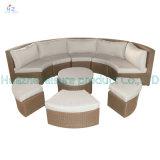 Jeu sectionnel en osier de meubles de jardin de sofa de patio de patio de Hz-Bt139 Rio de sofa extérieur réglé de rotin