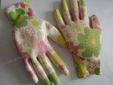 Сад Natrile покрыл перчатки работы безопасности перчатки трудные защитные (N6025)