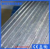 El panel de aluminio de PVDF Sandwish para la fachada y el techo