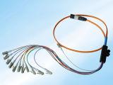 Simplex 0.9mm Sc LC 1m van Sm van de Fabrikant van de lage Prijs 3m 5m 10m Koord van het Flard van de Vezel het Optische