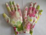 Le jardin Natrile a enduit les gants protecteurs de travail de travail de sûreté de gant (N6025)