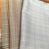 Пряжа рейона полиэфира Viscose покрасила ткань проверок для куртки и тяжелое дыхание костюма с мягким Handfeel