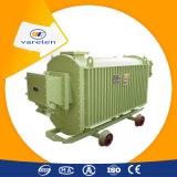 Transformador de potência trifásico da mineração