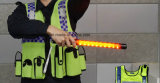 Multifunktionspolizei-Verkehrssteuerungs-Taktstock mit Pfeife