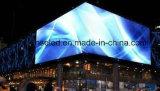 LED 스크린을 광고하는 P16 옥외 거리