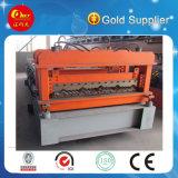 Плитка крыши стандартного цвета экспорта стальная делая машинное оборудование (застекленные HKY)