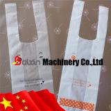 Einkaufstasche/Shirt-Beutel Flexo Drucken-Maschinen-Gebrauch-Supermarkt
