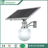 Neue im Freien Beleuchtung-Produkt-hohe Helligkeits-Sonnenenergie-Garten-Lampe