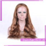 熱い販売法の人間の毛髪のレースの前部かつらのインド人Remy