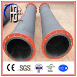 ゴム製HDPEの砂または泥または水交通機関のための浚渫の管のホース