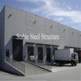 Grande oficina galvanizada da construção de aço vertida com disconto