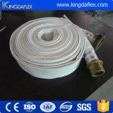 Manichetta antincendio di gomma della tela di canapa del rivestimento dell'unità di elaborazione del PVC del grande diametro