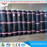 Het bitumineuze Materiële Sbs Gewijzigde Waterdichte Membraan van het Bitumen voor de Bouw van Dak