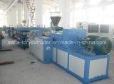 Chaîne de production en plastique d'extrusion de panneau de feuille de PVC de machine