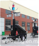 가로등을%s 400W 24V Maglev 바람 터빈 발전기
