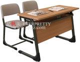 Jogos da tabela e da cadeira do estudante da mobília da sala de aula