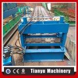 Stahlkonstruktion-Fußboden-Plattform-Fliese-Platten-Rolle, die Maschine bildet