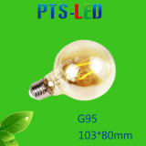 G95 4W 6W 8W 400-900lm Dimmable LED Heizfaden-Birne