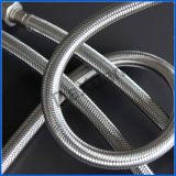 Conducto galvanizado del metal flexible del extremo del borde del NPT del bramido 1