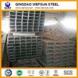 Heiße Quadrat-Rohre des Verkaufs-Q235 strukturelle schwarzes des Material-ERW