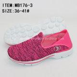 El Slip-on frío barato más nuevo del cemento se divierte los zapatos para las mujeres (MB176-3)