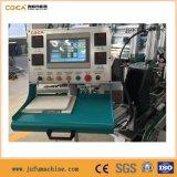 Máquina de soldadura horizontal do CNC 4-Corners para o indicador e a porta do PVC