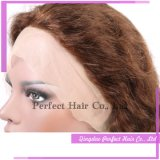 100% Handmade 엉킴 & 자유로운 중국 Virgin 머리 가발 Armenian&#160를 흘리기; 머리