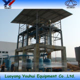 Используемое оборудование очищения масла дистиллятора вакуума масла турбины