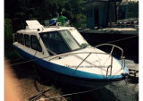 Aqualand 25FT 7.6m Water Taxi Cabin Boat/Fiberglass Ferryboat (760)