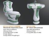 La suite de luxe décorative de salle de bains pour lavent vers le bas la toilette pour le Sri Lanka