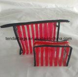 Sac promotionnel de tirette d'usine de fabrication de sac d'articles de toilette