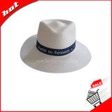 Шлема Fedora человека Панамы шлем бумажного Unisex выдвиженческий