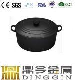 卸し売りエナメルのLFGBのFDAが付いている楕円形の鋳鉄のダッチオーブン