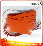 Calefator do elemento de aquecimento do silicone 400*300 para a impressora 3D