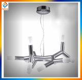 Moderne Kaffeestube-Glasdekoration-hängende helle Leuchter-Decken-Lampe