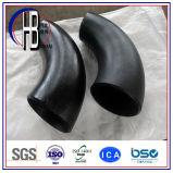 A234/A105 Bwの鋼鉄付属品90度の炭素鋼の不足分の半径の肘