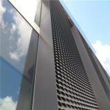 建物の正面のための電流を通された拡大された金属