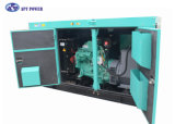 65kVA generador diesel insonoro, rango 10kVA - 2250kVA de la salida de la fuente