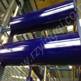 Conveyor Carrier Trough Return Steel Impact Rubber Disc Flat Rubber Heavy Duty Roller Roll Idler