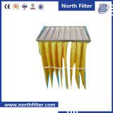 De eerste Synthetische Filter van de Zak van de Vezel voor het Schoonmaken van de Lucht