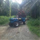 Dumper de levage élevé de ferme de palmier à huile SD18 pour la plantation d'huile de palmier