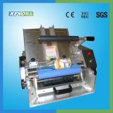 Máquina de etiquetas tecida Centerfold da etiqueta da alta qualidade Keno-L117
