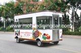 Caminhão elétrico do alimento da guloseima atrativa do assado para a venda