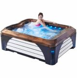 TERMAS ao ar livre do Whirlpool do Jacuzzi da fibra de vidro do sexo dobro (M-3392)