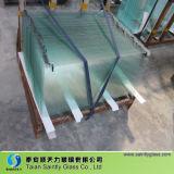 strato poco costoso di vetro Tempered di 3.2mm per costruzione