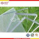 UVpolycarbonat-Dach-Blatt des beschichtung-Schutz-6mm transparentes
