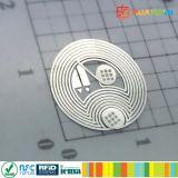 Dia13mm 13.56MHz RFID NTAG213 passivo mini NFC secam o embutimento
