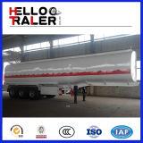 De Aanhangwagen van de Vrachtwagen van de Tanker van de Brandstof van de Tank van de Benzine van de tri-As 40000L-60000L van het Type van oplegger